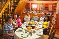 Вечеря в угорській сім'ї