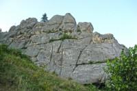 Північна строна скель