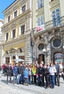 Школярі з Боярки (Школа №1) біля Палаццо Бандінеллі
