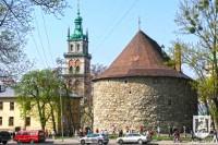 Східна окраїна старого Львова