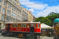 Старий львівський трамвай