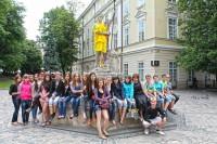 Студенти біофаку КНУ ім.Драгоманова на екскурсії