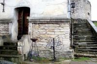 Замкові мури, Олесько