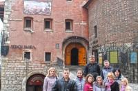 Гімназія ім. П.Куліша, м. Шостка під час екскурсії по історичному Львову