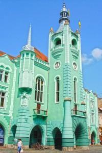 Мукачеве. Будівля міської ради