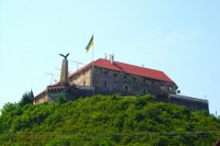 Мукачівський замок і пам'ятник турулу
