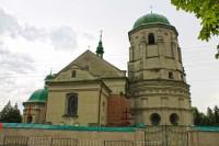 Пам'ятка архітектури Олеська - костел Святої Трійці