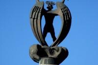 Скульптура Святого Михайла на Личакові у Львові