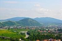 Вигляд з тераси Мукачівської твердині