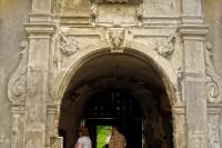 Виїзд із палацу в Свіржі
