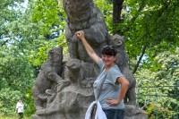 Замковий парк в с.Чинадієве