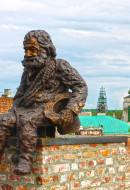 Памятник трубочисту Львов экскурсия