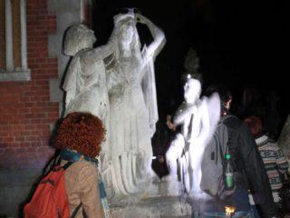 Нічна екскурсія по Личаківському кладовищу
