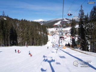 Тур в Карпаты зимой и катание на лыжах в Буковели